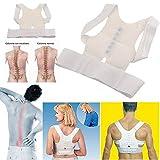 #4: Divinext Back Support Posture Corrector Belt For Align Posture & Prevent Neck Pain, Extra Large size