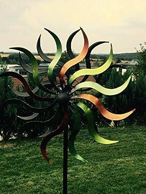 WindRad ArtFerro, Metall, 35,5x16,5x184 cm von Denk - Du und dein Garten