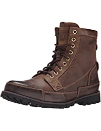"Timberland Men's Earthkeepers 6"" Lace-Up Boot Dark Brown Burnished Oiled 8.5 D(M) US"
