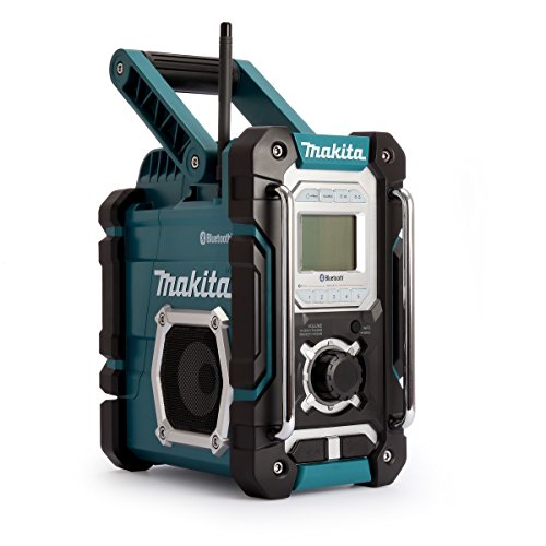 Makita DMR108 Radio Portable Worksite Noir, Bleu - Radios Portables (Worksite, AM,FM, 87,5-108 MHz, 522-1,629...
