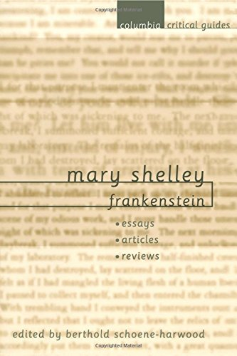 mary shelleys frankenstein and structuralism essay