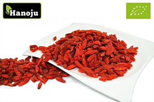 Bio Goji Beeren 1000 g Trockenfrüchte aus kontrolliert biologischem Anbau 100% natürlich - Laktose & Sojafrei (Provinz-creme)