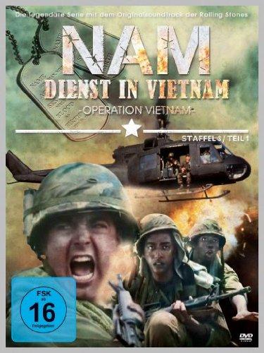 Nam - Dienst in Vietnam Staffel 3, Teil 1 [4 DVDs]