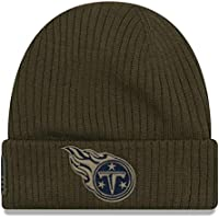 cheap for discount 8a6d7 a65eb New Era NFL Tennessee Titans 2018 Salute to Service Sideline Knit
