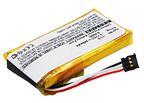 subtel® Qualitäts Akku kompatibel mit Logitech H600 Headset (240mAh) 1110 Battery Ersatzakku Batterie