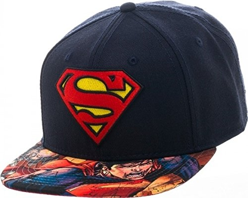 Baseball Cap – DC Comics – Superman – Logo Bill Snapback New sb2gs9spm (Bill-logo-cap)