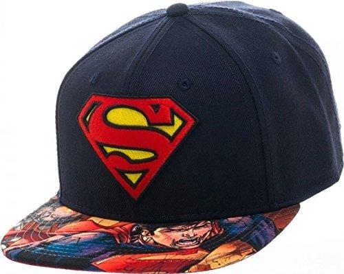 Baseball Cap–DC Comics–Superman–Logo Bill Snapback New sb2gs9spm (Bill-logo-cap)
