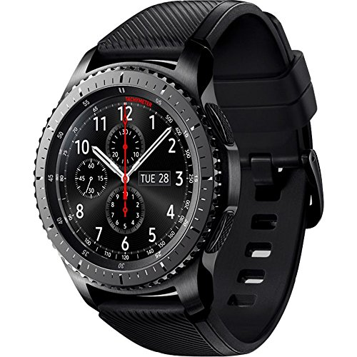 Samsung SM-R760NDAAROM Smartwatch Gear S3 Frontier schwarz