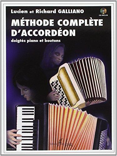 Méthode complète d'accordéon par Richard Galliano