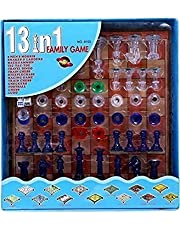 Prime Deals Chess + 13 More Games 13 in 1 with Magnatic Board