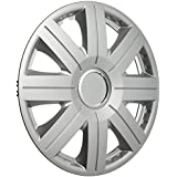 Altium 504814 Boîte 4 Enjoliveurs 14 S-800 Chrome Ring