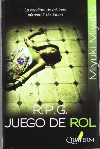 R.P.G. Juego de Rol (Novela Policiaca)
