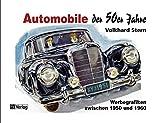 Automobile der 50er Jahre: Werbegrafiken zwischen 1950 und 1960