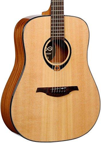 Lag - T80d dreadnought guitarra acustica solid spruce