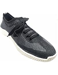 Ind Crown Fashion Men's Grey Black Sneaker