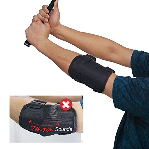 XUE Golf Training Aid Golf Swing Posture Elbow Brace Corrector Alignment Guide Training Support Tool for Golf Novice Practice
