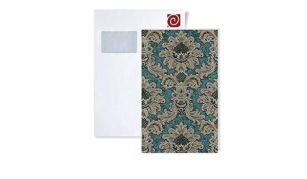 1 /ÉCHANTILLON S-81206BRXX EDEM BRAVO Papier peint intiss/é baroque ornements S-81206BRXX:S-81206BR48 /ÉCHANTILLON de Papier peint intiss/é au format A4