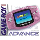 Gameboy Advance clear pink