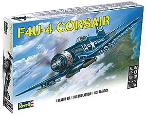 Revell- Corsair F4U-4,Escala 1:48 Kit de Modelos de plástico, Multicolor (15248)