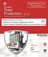 McAfee Total Protection - 1 User, 3 Years (email download) (Email Delivery in 2 hours- No CD)