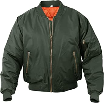 MAGCOMSEN Mens Bomber Jackets Casual Windbreakers Zip Pockets Jacket Outdoor Autumn Winter Warm Coats
