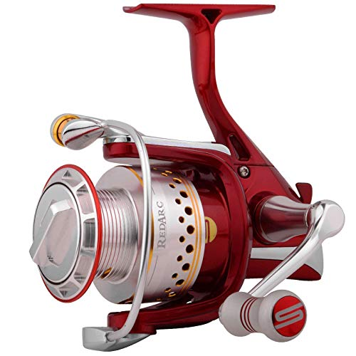 Spro RedArc 3000 - Stationärrolle zum Spinnangeln auf Zander & Hechte, Angelrolle zum Zanderangeln & Hechtangeln, Zanderrolle
