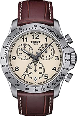 Tissot Reloj De Hombre Cuarzo Suizo Correa De Cuero Dial Marfil T1064171626200 de Tissot