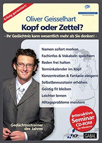 Oliver Geisselhart - Kopf oder Zettel? (Software-entwicklung-management)