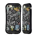 Head Case Designs Officiel Lily & Val Live Travel Typographie des Voyages Étui Coque...