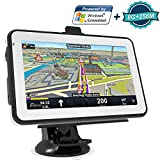 Navigazione GPS per auto navigatore satellitare, Kainuoa 12,7cm 8GB + 256M navigatore satellitare GPS media player UE e UK latest Maps and lifetime Map Updates