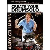 Create your Drumsolo, 1 DVD, deutsche u. englische Version