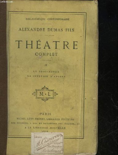 Theatre Tome 2 [Pdf/ePub] eBook
