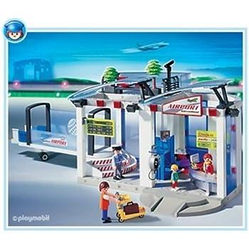 Playmobil - 4311 - L'Aéroport - - Aeroport + Passerelle d'embarquement