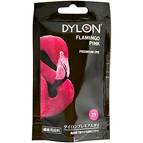 Dylon 2044042 - Tintes para tela, color rosa flamingo