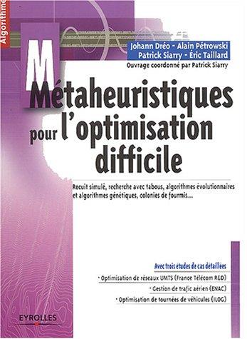 Mtaheuristiques pour l'optimisation difficile