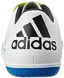 adidas Herren X 15.3 in Fußballschuhe, Weiß (Ftwr White/Core Black/Semi Solar Slime), 46 EU -