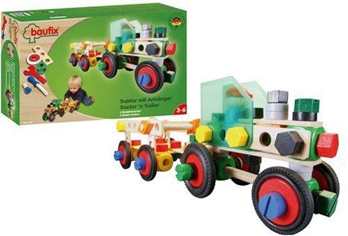 Baufix 30500 - Traktor mit Anhänger