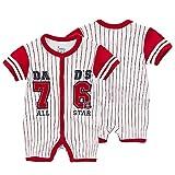 Baby Strampler Kleidung Neugeborenen Kinder Overall [80CM] Kleinkinder Jungen Mädchen Sommer Baby Strampler Kleidung Set Nr.76 Babykleidung