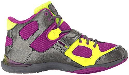 Ryka Womens Tenacious Cross-Trainer Shoe Wine/Grey