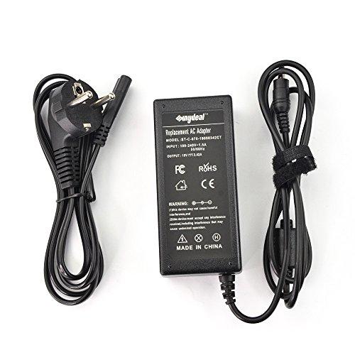 Sunydeal - Cargador Adaptador 65W para Ordenador Portátil Acer, 19V 3.42A, 5.5x1.7mm, Compatible con Acer Aspire/Travelmate/Extensa