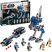 LEGO 75280 Star Wars Clone Troopers der 501. Legion, Bauset mit Kampfdroiden und AT-RT Walker