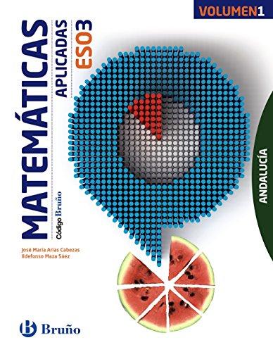 Código Bruño Matemáticas Aplicadas 3 ESO Andalucía3 volúmenes