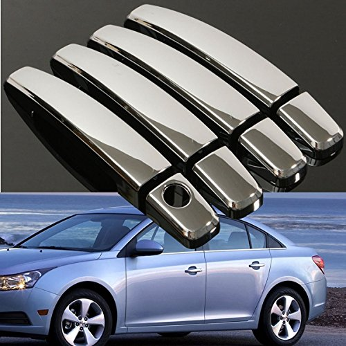 Forspero 8Pcs Set of Handle Cover Handle Shell für Chevy Malibu Cruze Traverse Saturn Aura GMC Terrain