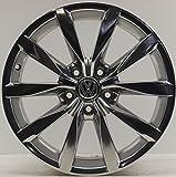 1 Original VW Golf 7 5G VII Dijon Alufelge 7x17 ET49 5G0601025BH Chrom EF3113