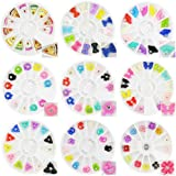 Beauties Factory New 3D Fan Cake Slices Bow Tie Manicure Nail Art Fimo Decoration Set of 9 BUNDLE DEAL #597ALL
