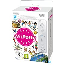 Wii Party + Télécommande Wii blanche