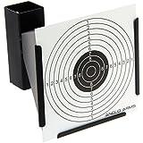 g8ds® Kugelfang-Kasten inkl. 10 Zielscheiben Scheibenkasten in Ganzmetallausführung Target - 14 x 14 cm Luftgewehr Luftpistole Softair