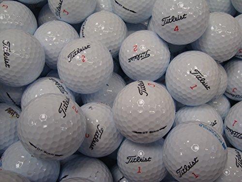 Titleist DT SOLO Lot de 24 balles de golf Qualité AAA