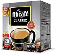 Alicafe Classic 2 in 1 Instant Coffee, 20 Sachets