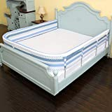 LXLX Kinderbett-Leitplanke, tropfenfestes Kinderbett, großer Bettzaun, Baby-Bett-Bett-Schwammzaun (größe : 150cm)